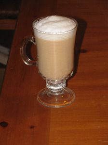 Skinny Almond Latte ONLY 47 CALORIES!