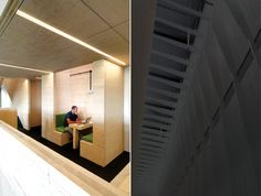 Cross-laminated timber was chosen because it could be quickly prefabricated