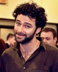 You know you wanna nuzzle in my chest hair don't ya? - says Aidan Turner