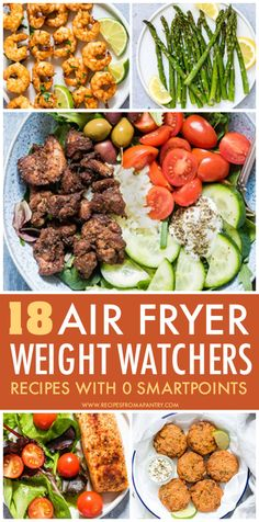 With the air fryer, you can enjoy delicious healthy, low calorie meals, sides and snacks! These weight watchers friendly recipes are not only simple and easy, but have zero blue plan smart points! Get inspired to eat healthy with these tasty satisfying air fryer recipes. #airfryer #airfryerrecipes #wwrecipes #zeropointrecipes #healthyrecipes #weight_watchers #ww #lowcalorierecipes #WeightWatchersAirFryerRecipes #weightwatchers #recipes #weightwatchersrecipes Healthy Low Calorie Meals, Low Calorie Dinners, Low Calorie Recipes, Eat Healthy, Easy Healthy Recipes, Healthy Cooking, Air Fryer Recipes Low Carb, Air Fry Recipes, Air Fryer Dinner Recipes
