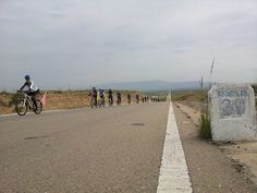 continuous slope is really difficult Cycling around the Qinghai Lake of China Cycling, Sidewalk, China, Biking, Bicycling, Side Walkway, Walkway, Porcelain, Walkways