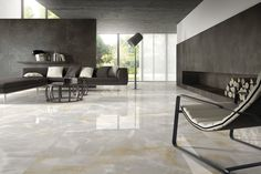 Ariostea Onice Grigio Outdoor Porcelain Tile Tiles Marble Floor