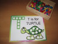 Preschool Letter T is for Turtle Printables