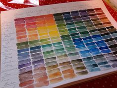 Acrylic Painting with Christy: Color Mixing Chart Tutorial