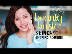 Rejuvenate your skin! - An evening skin care routine assists in repairing and rebuilding the cells in the skin. Going to sleep with makeup on can age (more) Skincare Blog, Korean Skincare, Skincare Routine, Skin Routine, Oily Skin Care, Skin Care Tips, Dry Skin, Smooth Skin, Evening Routine