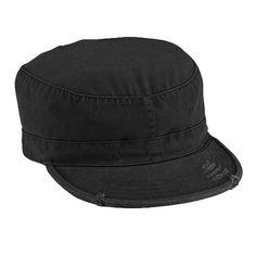로스코의 전통 밀리터리캡! ROTHCO 로스코 [ROTHCO] VINTAGE SOLID BLACK FATIGUE CAP (BLK)