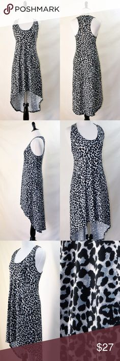 NWOT Freeloader Modcloth High Low Leopard Dress New without tag Freeloader Modcloth  Casual and comfortable 95% polyester 5% spandex Hand wash with cold water Soft and stretcy Sleeveless Leopard pattern Size s(would fit xs as well) Freeloader Dresses High Low