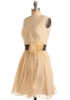 The belt really makes this dress!