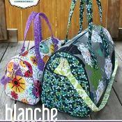 Swoon Blanche Barrel Bag - via @Craftsy