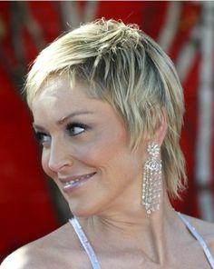 Sharon Stone always looks great.