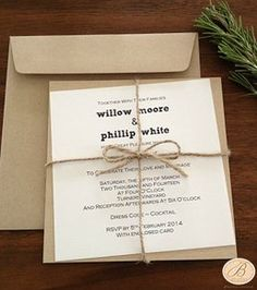 B Studio Wedding Invitations | Handmade Wedding Invitations and Matching Stationery
