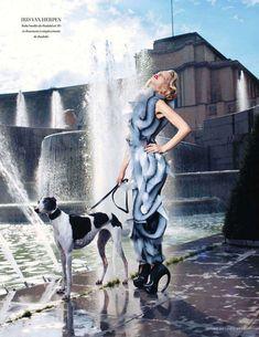 Parisian-Glam Photoshoots : Tanya Dziahileva for L'Officiel November 2011