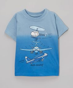 Look what I found on #zulily! Blue 'Up Up And Away' Tee - Toddler & Boys #zulilyfinds