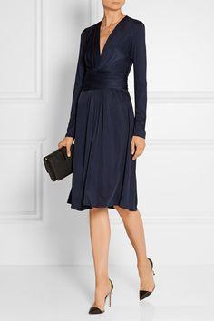 Issa   Phyllis silk-blend jersey dress   NET-A-PORTER.COM