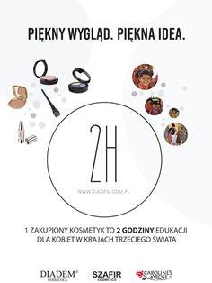 """O Naszej inicjatywie pisze portal VERS-24! """"Na naszym rodzimym rynku działalność w modelu charytatywnym prowadzi Diadem Cosmetics, firma zajmująca się produktami do makijażu, która postawiła sobie wyraźne cele − rozwój marki połączony z działalnością charytatywną. Znaleźli sposób, żeby włączyć w te działania swoje klientki."""""""