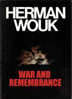 "WOUK, Herman. War and Remembrance (1980) Pocket Books New York [Distributed in Canada by Paper Jacks Ltd.] ""War and Remembrance"" is a historical romance. The subject is World War II, the viewpoint American. A prologue, ""The Winds of War"", published in 1971, set the historical frame for this work by picturing the events leading up to Pearl Harbor. This is a novel of America at war, from Pearl Harbor to Hiroshima. It is the main tale I had to tell... [HW, Washington, 23 March 1978]"