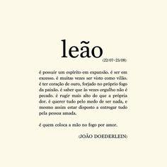Poema Leão