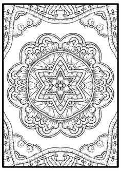 Free mandala coloring page is a hand draw design created for those who want to color mandala coloring pages for free, This is one of the future designs that we will release for free.