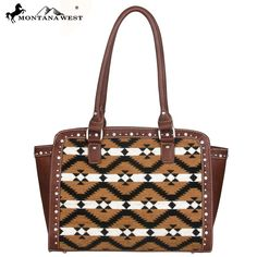 Montana West Aztec Collection Tote Handbag