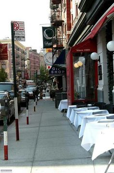 Little Italy. Mulberry Street.
