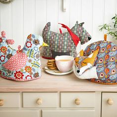 animal shaped tea cosies by ulster weavers | notonthehighstreet.com