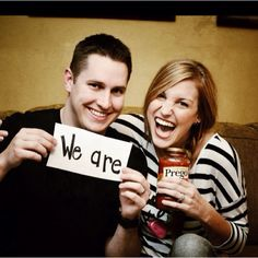 Cutest baby announcement!