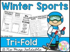 Winter SportsCLICK BELOW TO CHECK OUT MY GROWING BUNDLE OF TRIFOLDS.  THERE ARE OVER 90 TOPICS!CHECK OUT THE MONEY SAVING GROWING BUNDLECLICK BELOW TO CHECK OUT OTHER TRI-FOLDSNEW YEARS TRI-FOLDPENGUINS TRI-FOLDTri-Folds Can Be Used For Literacy Centers Social Studies Mini Lesson Small Groups Homework Partner Work Research  Individual Work Group Work Tri-Fold Skills Included Vocabulary Writing Reading Passage Comprehension Fluency Art