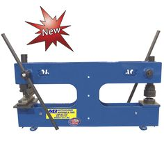 Two Sided 3 Ton Manual Bench Press , By Mittler Bros. Tooling Can Be Mounted On Both Sides Metal Fabrication Tools, Sheet Metal Tools, Metal Shaping, Minden, Machine Tools, Bench Press, Metalworking, Manual, Workshop