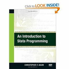 An introduction to Stata programming / Christopher F. Baum