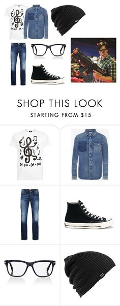 """""""Nate-Smile"""" by rhydianwolf on Polyvore featuring PS Paul Smith, Valentino, Jack & Jones, Converse, Tom Ford, Burton, men's fashion and menswear"""