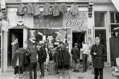 Carnaby Street 1960. Lord Kitcheners Valet