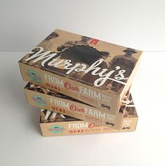 Murphy's Farm Market Pie Boxes on Packaging of the World - Creative Package Design Gallery