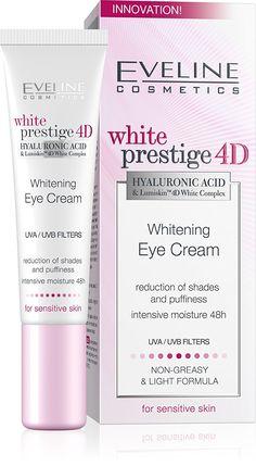 Eveline Cosmetics White Prestige 4D Whitening Eye Cream *** Tried it! Love it! Click the image. : Eye Care