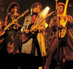Prince 30 years in pictures — Prince, Andre and Dez
