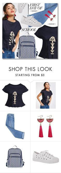 """First Day of School"" by fshionme ❤ liked on Polyvore featuring 7 For All Mankind and BackToSchool"
