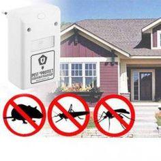Cumpărați Repelent Șoareci Și Insecte Pest eProtect la cel mai bun preț.  Utilizând orice priză normală din casă, Repelent Șoareci Și Insecte Pest eProtect creează un scut electromagnetic de protecție împotriva insectelor și rozătoarelor.  Repelent Șoareci Și Insecte Pest eProtect va ține șoarecii și insectele departe de casa dvs., astfecl că dvs. vă puteți relaxa în voie. Cele peste 5 milioane de bucăți vândute la nivel mondial demonstrează eficiența acestui dispozitiv.   Protecți..