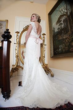 Vivienne looks picture perfect in Anne Barge's Pembroke gown. JessieO Photography.
