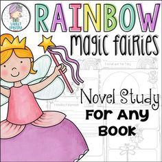 Rainbow Magic Fairies Novel Study Unit *Any Book* by Violet Tabitha | Teachers Pay Teachers