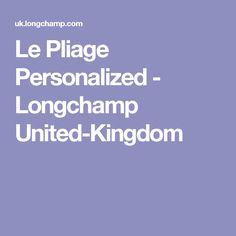 Le Pliage Personalized - Longchamp United-Kingdom