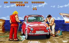 See more 'Street Fighter' images on Know Your Meme! Funny Meme Pictures, Funny Memes, Ryu Ken, Street Fighter Characters, 8 Bits, King Of Fighters, Fighting Games, Video Game Art, Game Character