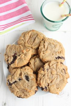 Chocolate Chunk and Peanut Butter Cookies