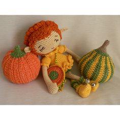 Тыквенный эльф #амигуруми #вязание #вязание крючком #тыква #эльф #волшебство #Хэллоуин #кукла #игрушка #amigurumi #handmade #crochet  #elf # Halloween #pumpkin #doll #toy