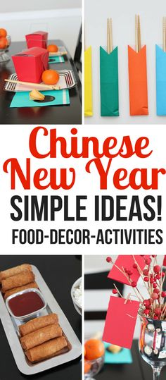 How to Celebrate Chinese New Year Simply! - So Festive! Simple-Chinese-New-Year-Ideas- Year of the Dog- Chinese Food- Chinese-New-Year-Red-Envelope Tradition<br> How to celebrate Chinese New Year. Chinese New Year traditions, food ideas, and decorations. Chinese New Year Traditions, Chinese New Year Activities, Chinese New Year Party, Chinese New Year Decorations, New Years Traditions, New Years Decorations, Happy Chinese New Year, New Years Dinner Party, Chinese Birthday