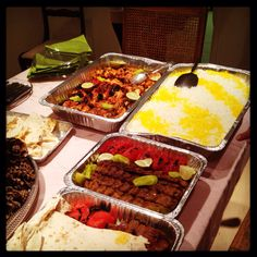 Kebab feast...nothing beats Armenian food!
