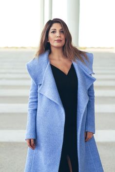 Something blue   #fashionbloggers #blue #coat