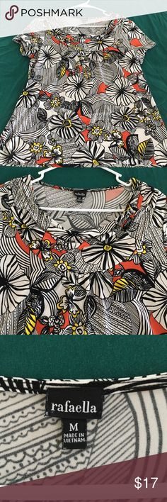 Bright blouse Comfy and bright Rafaella Tops Blouses