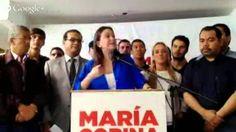 La diputada María Corina Machado le habla al país sobre su citación en c...
