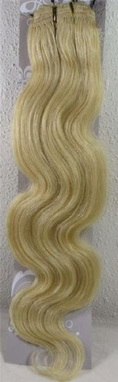 "22"" Color:blonde Highlight (#27/613) Body Wave Brazilian Virgin Remy Hair Wefts - 100% Raw Virgin Human Hair Weave - Brought to you by Avarsha.com"