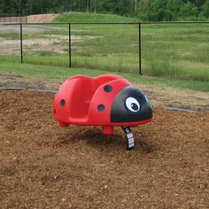 Lucky Lady Bug Spring Rider Playground Accessories, Lucky Ladies, Outdoor Play, Lady Bug, Playgrounds, Picnic, Hawaii, Trail, Kids