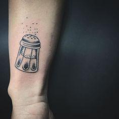 Salt Pepper Shaker Tattoo